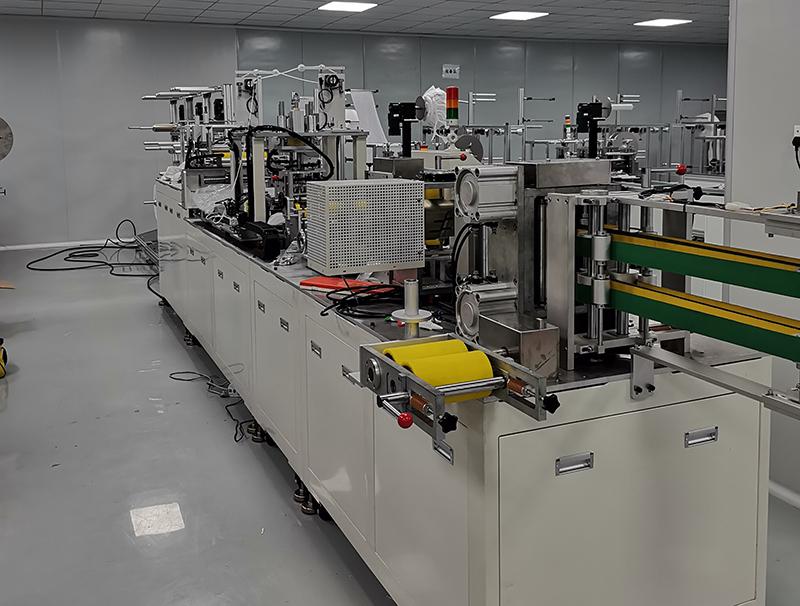 KN95全自动口罩机-静电喷涂粉末厂家