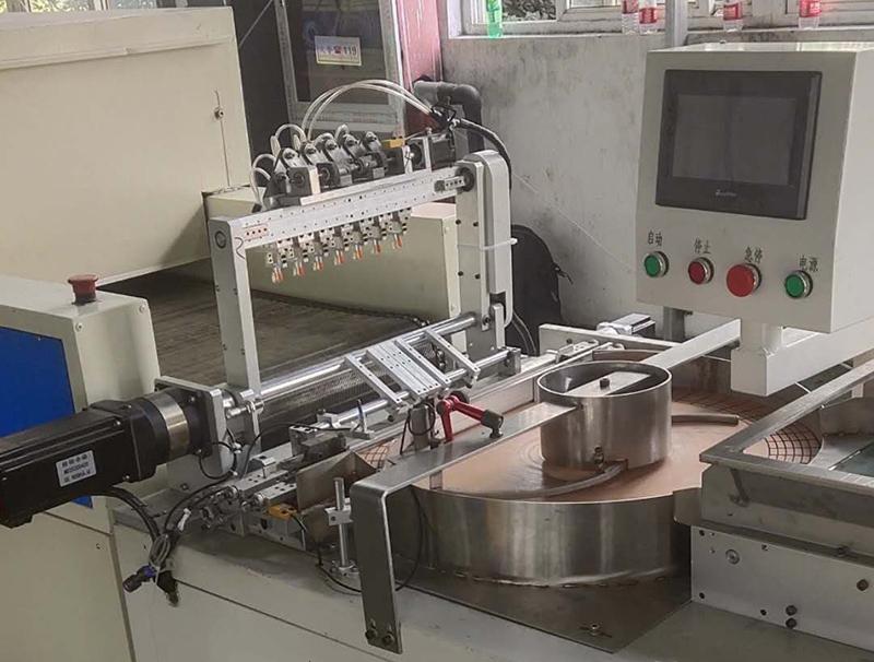 全自动涂装机-静电喷涂生产线
